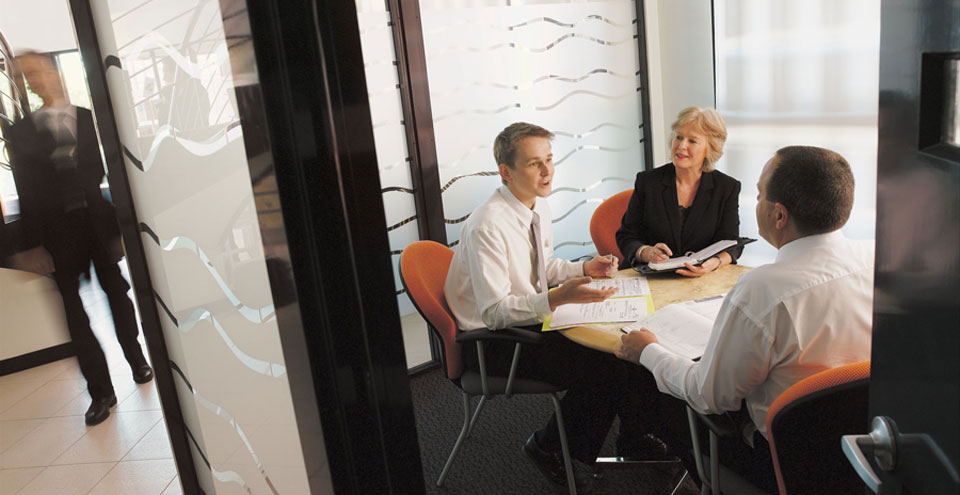 Meeting room in Perth Professional Office Suites